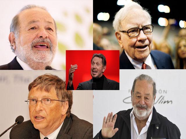top-5-billionaires of the world