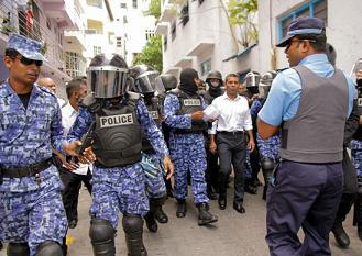 mohammad nasheed arrested1