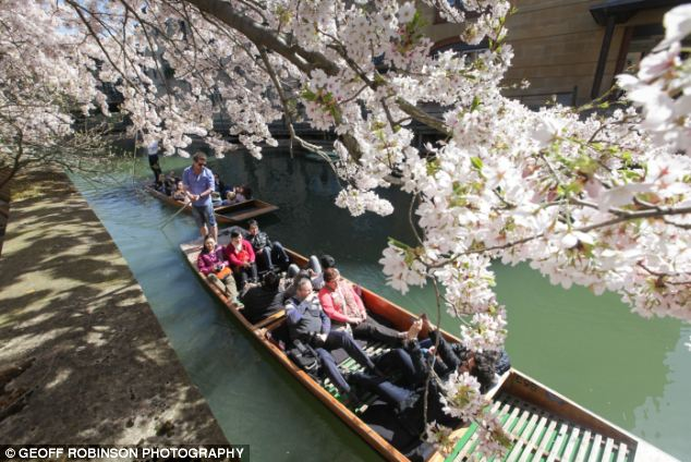 Britain basks in bright spring day