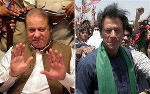 imran khan and nawaj sharif