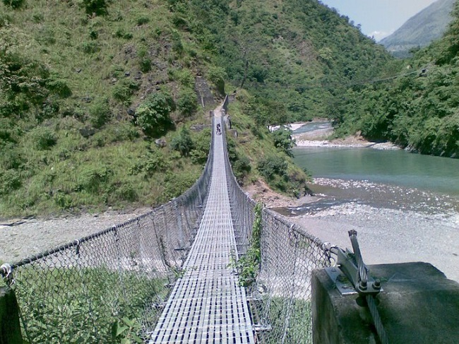 Nine more suspension bridges to be built in Myagdi