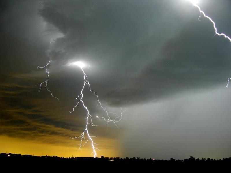 Woman killed, four injured in lightning strike