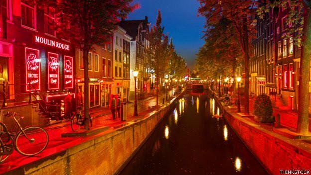 amsterdam red light area