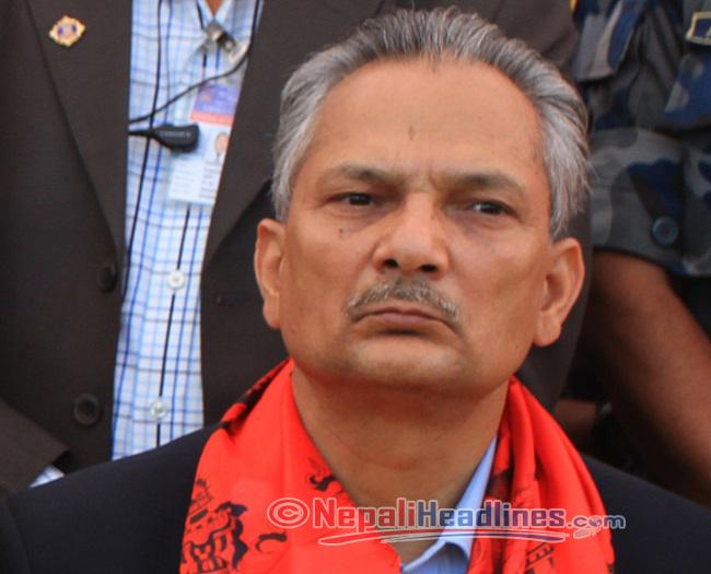 Baburam Bhattarai  red sall