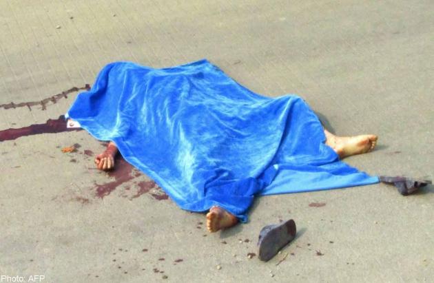 बुवाआमा दशैँको किनमेल गर्दैगर्दा ३ वर्षीय छोरीलाई बसले हान्यो, घटनास्थलमै मृत्यु