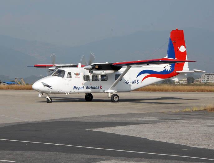 नेपालगञ्ज विमानस्थलमा एयर ट्राफिक जाम