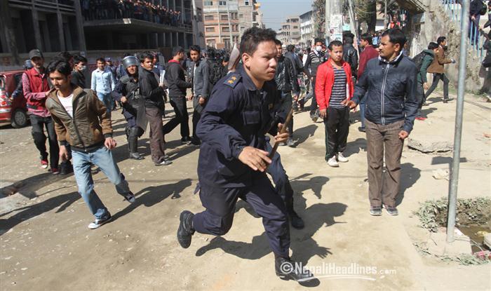Eight banda enforcers injured in clash in Kapilvastu