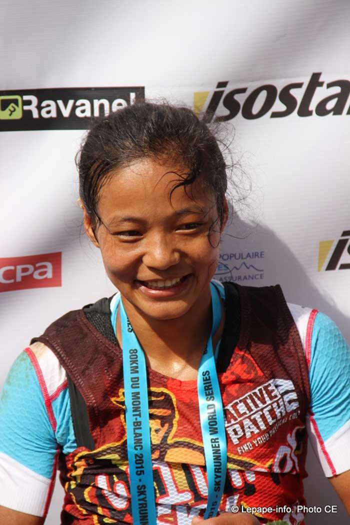 Ultra-marathon runner Mira Rai honoured