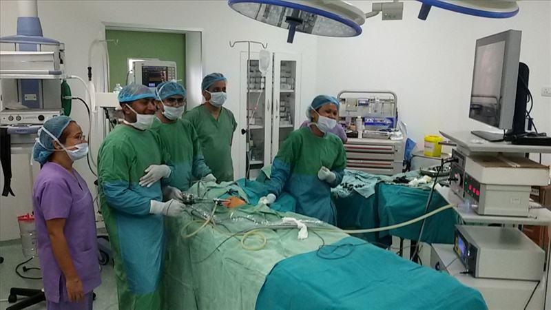 ग्रान्डी अस्पतालमा अब बालबालिकाको ल्याप्रोरेस्कोपिक सर्जरी सेवा पनि