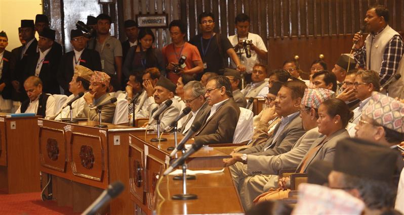 संविधान सभा बैठक – लाइभ अपडेट