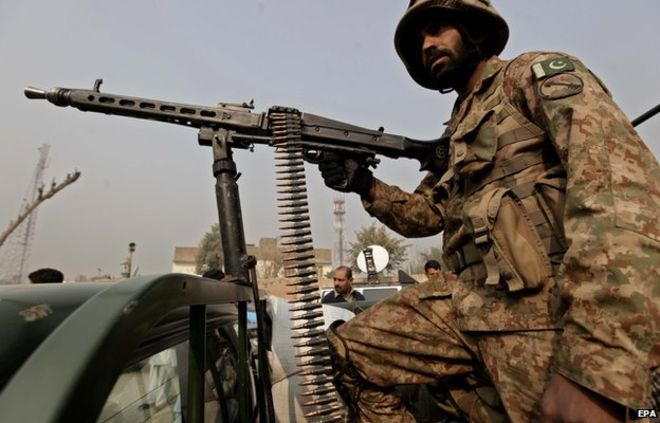 One army officer, five militants killed in NW Pakistan attack