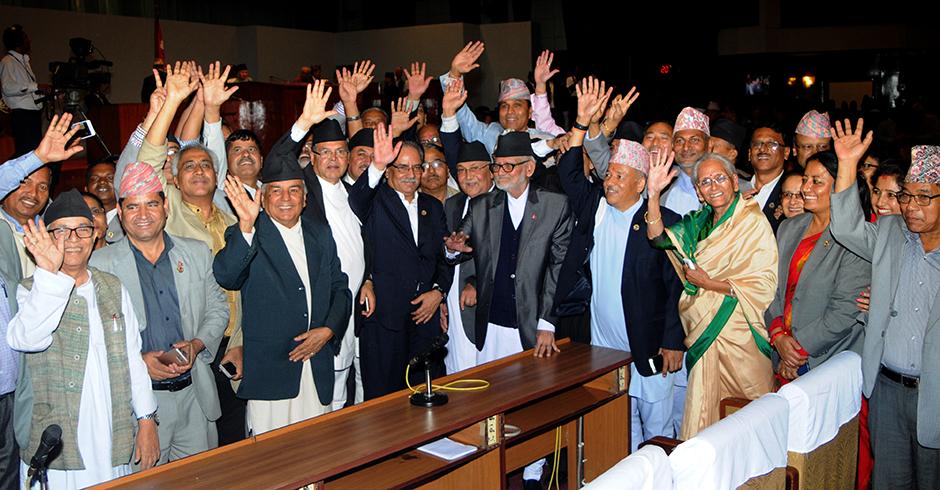 संविधान घोषणाः सुरक्षा व्यवस्था कडा