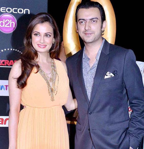 Dia Mirza and Sahil Singha