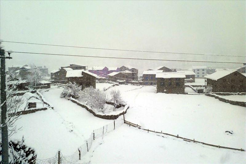 जुम्लामा हिमपातपछि वेपत्ता भएका १२ जना  घर फर्किए