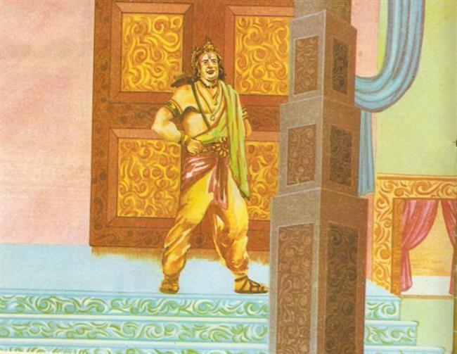 Laxman at Ram's door