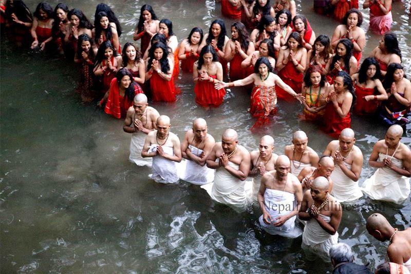 Sali nadi river swasthani brata  (2)