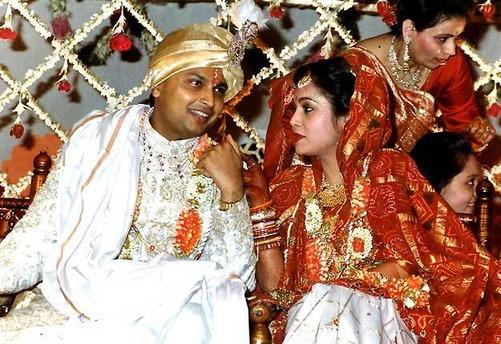 Tina Munim and Anil Ambani
