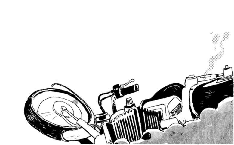 ह्वाइट गुम्बामा मोटरसाइकल दुर्घटना, चालकको ज्यान गयो