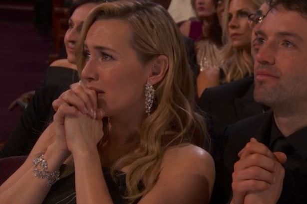 kate winslet crying