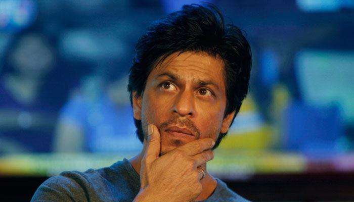shah rukh khan thinking