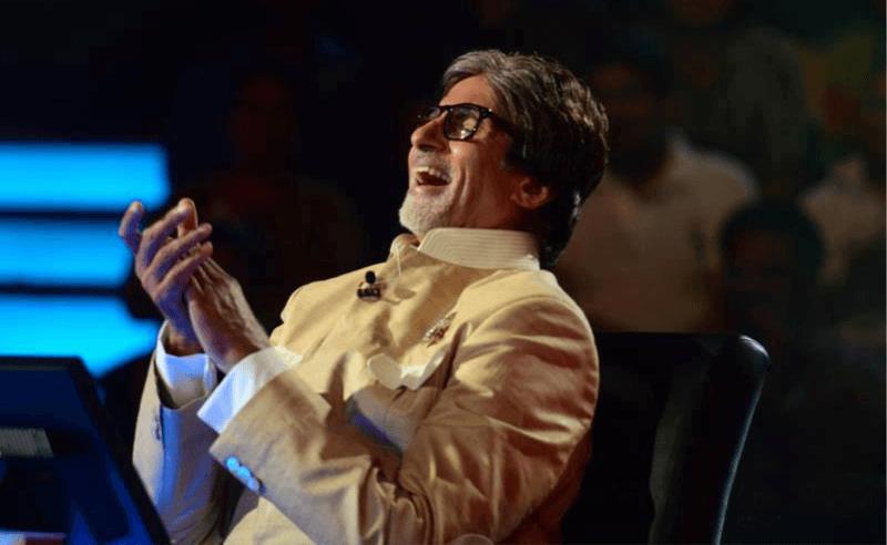 Amitabh Bachchan Laughing
