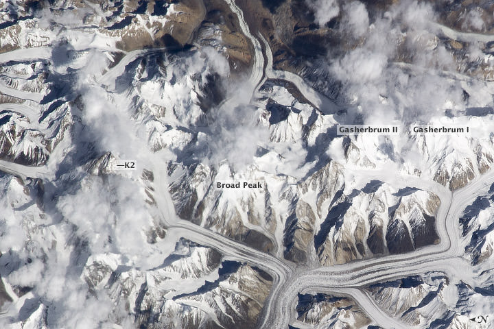 K2 from space