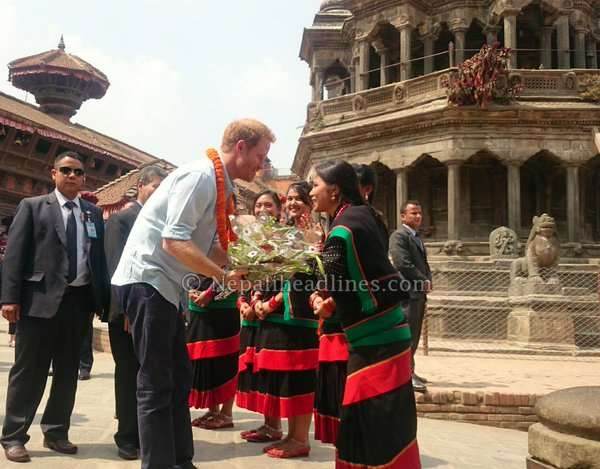 Patan folks to foreigners over the moon to see Prince Harry