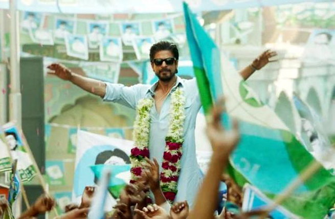 SRK in Raees