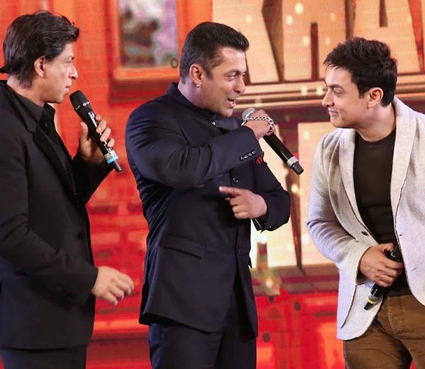 Sahrukh, Salman and Aamir Khan