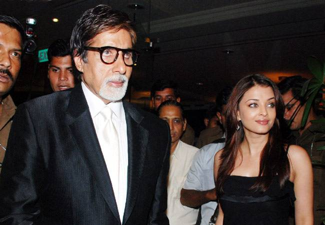amitabh with aish