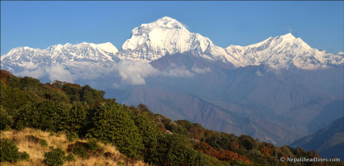 Global warming poses grave threat to the Himalayas