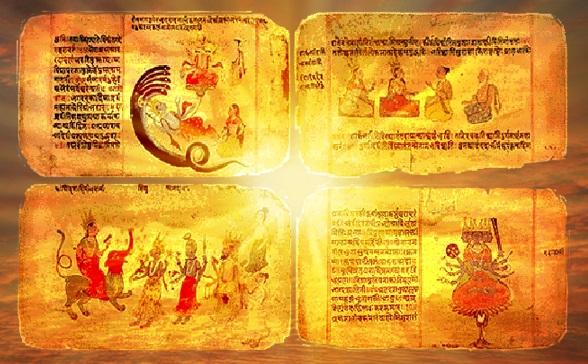 Four Vedas Enlightenment