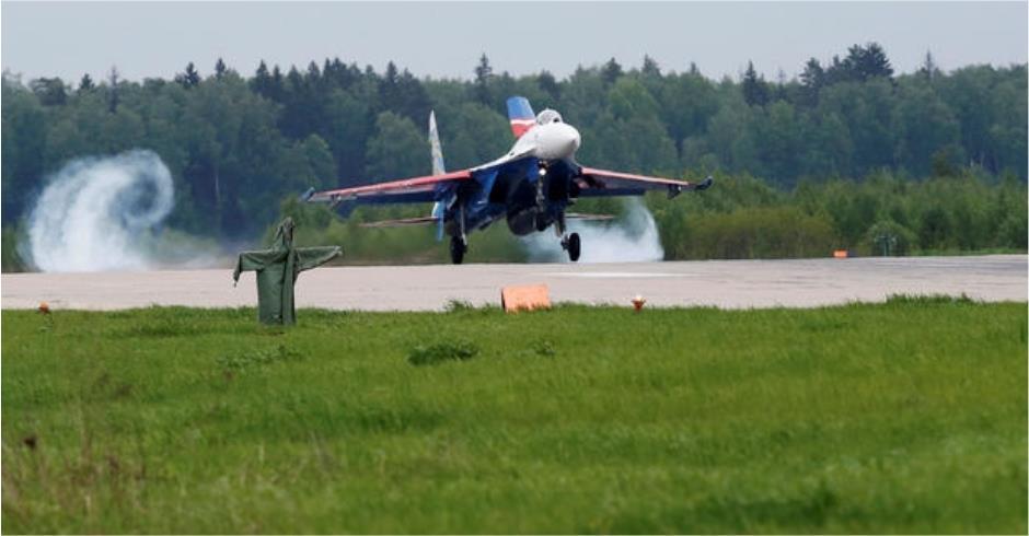 Su-27 crash kills pilot near Moscow