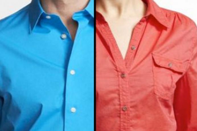 महिला र पुरुषको शर्टमा बटन किन फरक साइडमा हुन्छ ? ४ कारण
