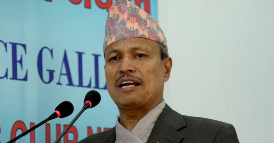 प्रधानमन्त्रीले पार्टी अध्यक्ष छोड्नुपर्छः भीम रावल