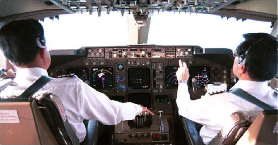plane cabin pilot 416716