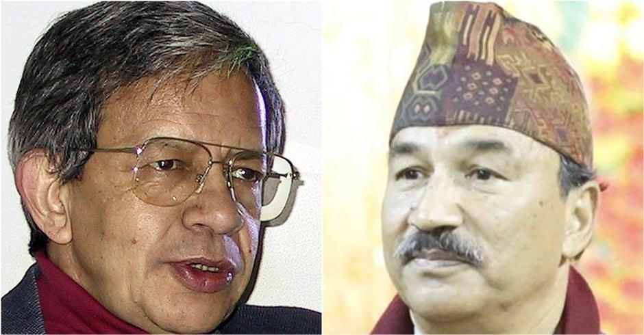 Pashupati Shamsher Rana and Kamal Thapa 24445415