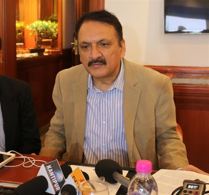 Foreign Minister Mahat off to New Delhi