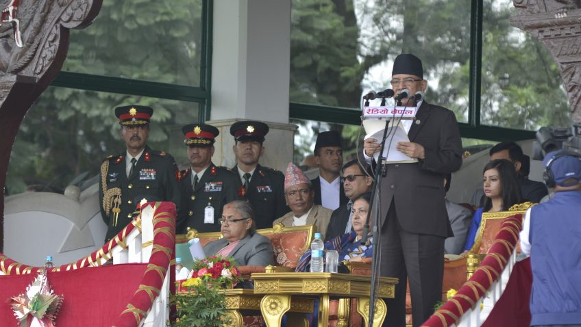 Government seriously working to address voices of Madheshi, Tharus: PM Dahal