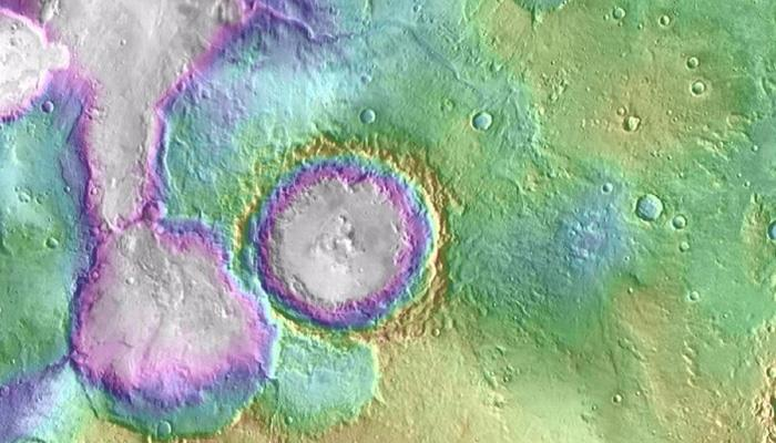 Lakes, snowmelt-fed streams on Mars formed much later than previously thought