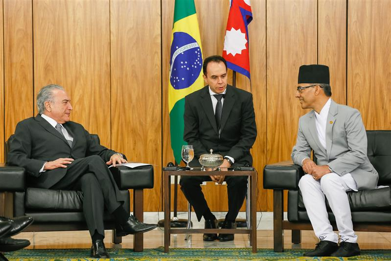 Nepali ambassador to Brazil presents credentials | Nepali Headlines