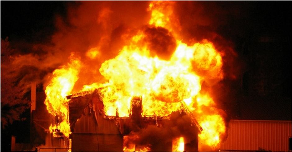 Fire destroys 25 houses in Sunsari