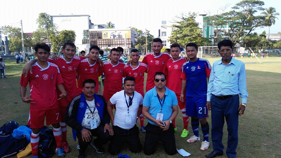 Nepal finishes second in 3rd futsal championship