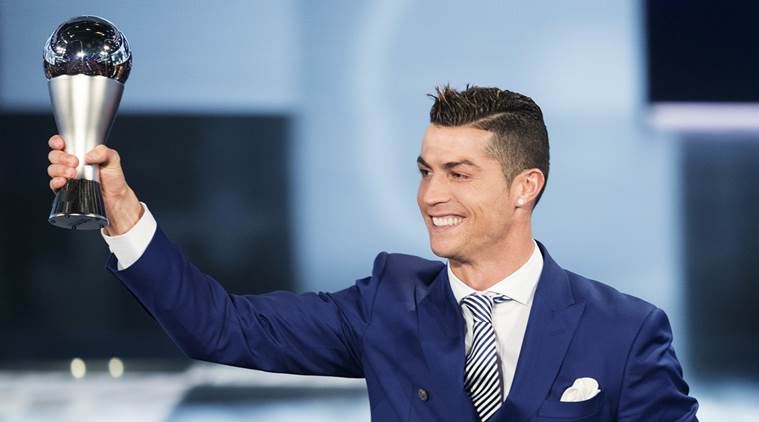 Cristiano Ronaldo wins FIFA Best Player Award for fourth time
