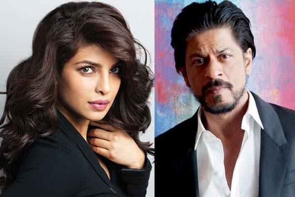 SRK, Priyanka top most talked about celebrity list on twitter