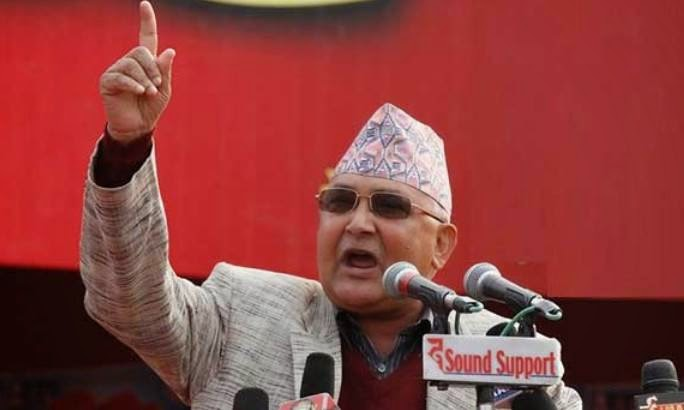 Incumbent government as disgraced as Lokman: Oli says