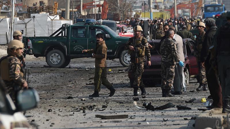 बम विस्फोटमा दुई प्रहरी अधिकारीको मृत्यु