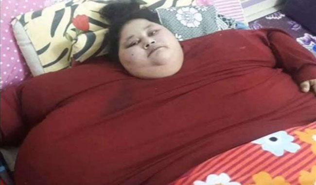 'World's heaviest woman' to fly to India for surgery