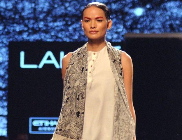 नेपालकी मोडलको भारतमा समेत चर्चा