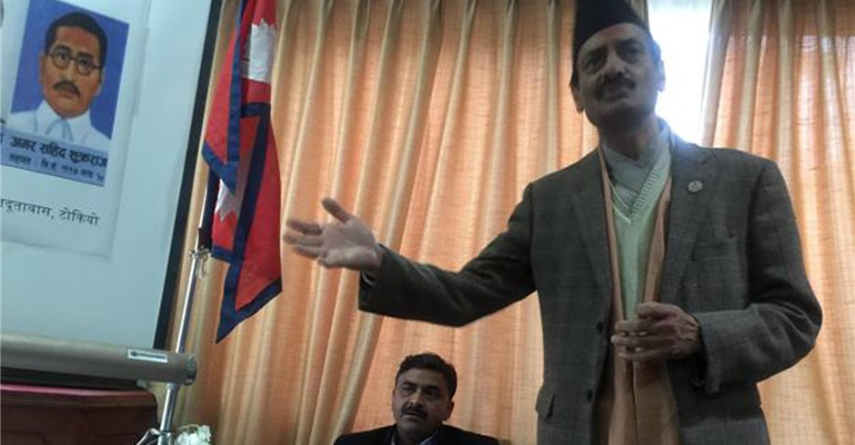 Democracy day marked in Nepali embassy in Japan